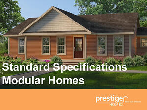 Standard Specifications for Modular Homes